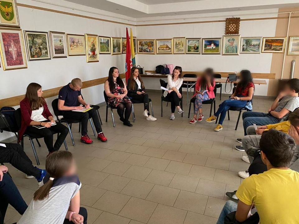 Edukativna radionica u Đurđevcu u sklopu projekta Zovu nas daljine